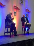 We had the opportunity to hear Hall-of-Famer Nolan Ryan speak on Sunday night.