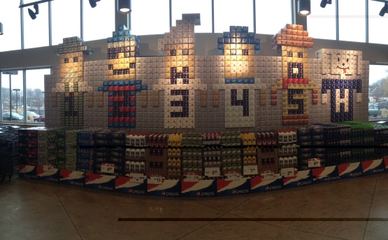 Hank PNS Pepsi Display