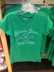 Women's Brewers St. Patrick's Day tee retails for $30.