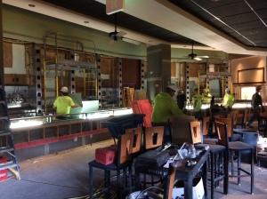 Fridays Renovation Miller Park