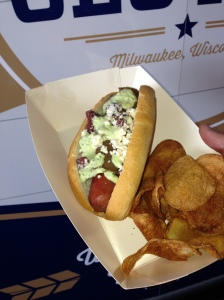 Gyro + hot dog + delicious.