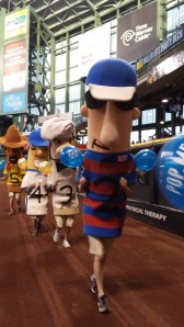 The Sausages got in on the #SpringMadness414 fun!