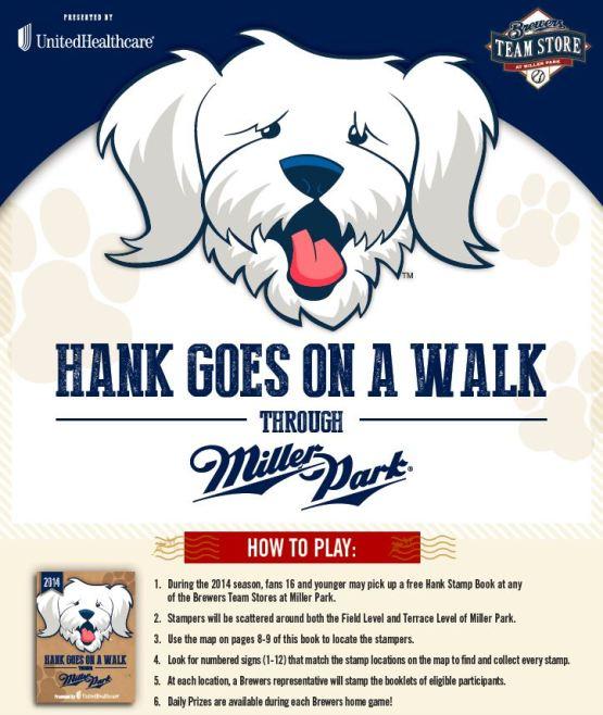 Hank Stamp Promo