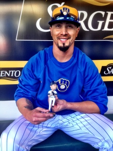 Kyle Lohse and Bobble Tattoo