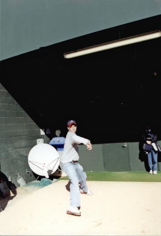 As a kid, Will took the mound in the Braves bullpen with big league dreams. This week he returned in a Brewers uniform.