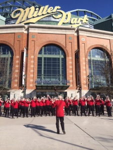 Badgers Band Miller Park