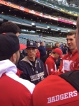 The team meets Yankees Manager Joe Girardi