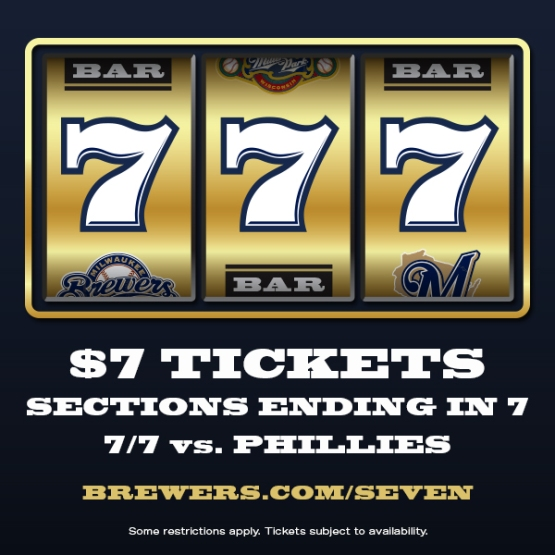 Brewers 777 Sale