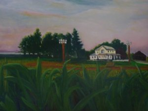 Field of Dreams Painting Suess