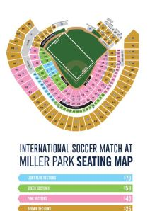 Soccer Seating Miller Park