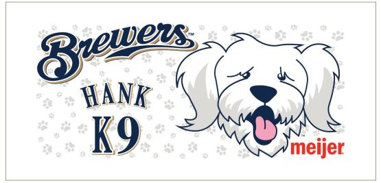 Hank Beach Towel Brewers