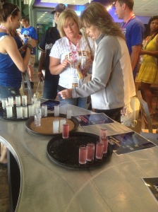 Skyy Vodka tasting at Brewed for Her.