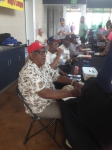 Also on hand were (L-R) Dennis Biddle, Reginald Howard, Ray Knox, James Beckum, Ted Toles and Nathan Weston