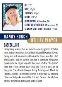 Sandy Rusch Back