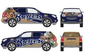 Brewers Car