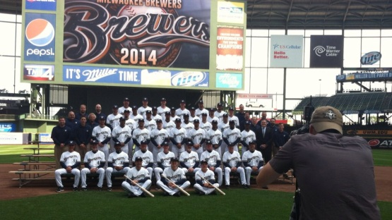 Brewers Photo Day