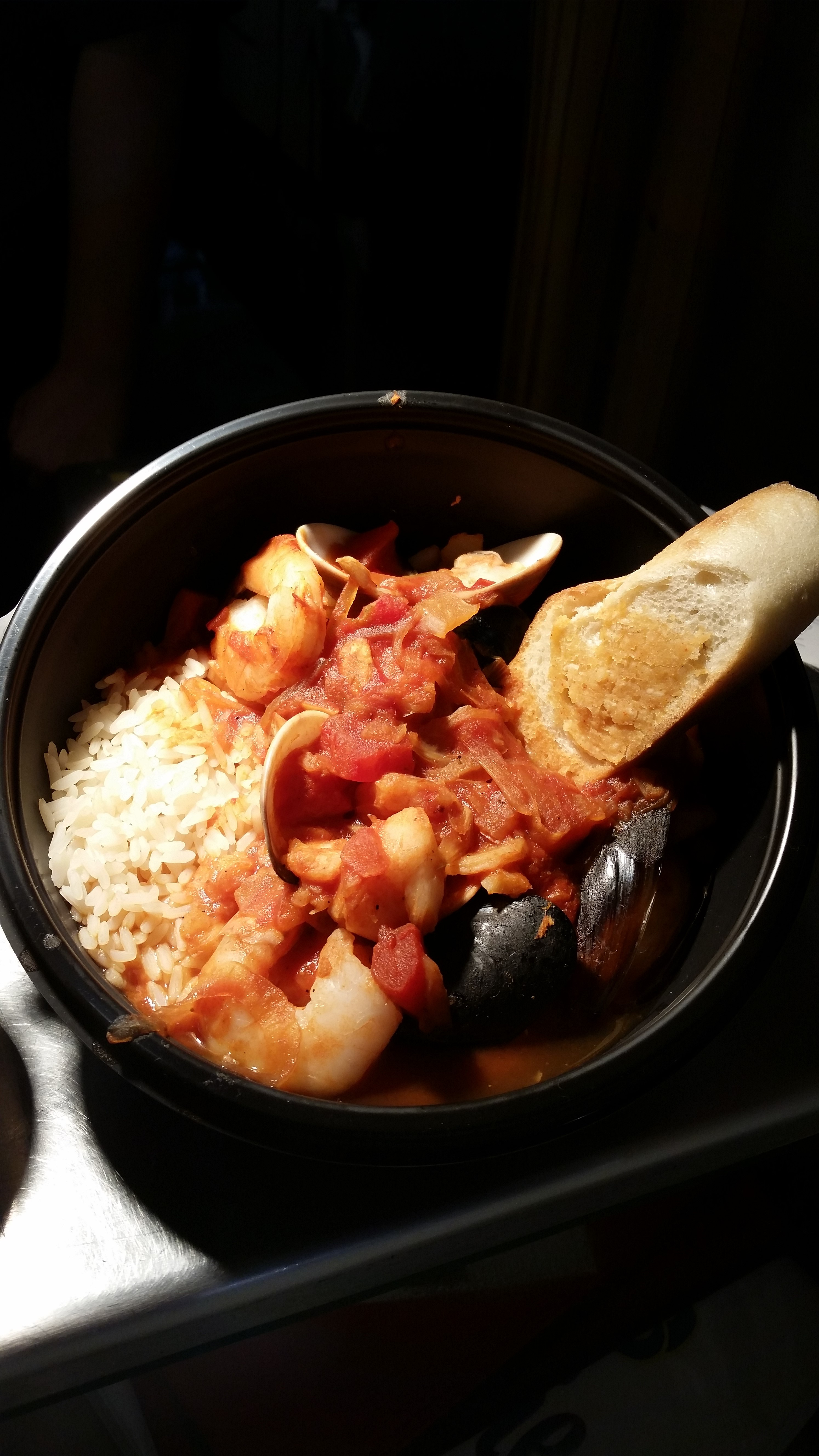 Double Clutch Menu Item for the Giants Series: San Francisco Cioppino