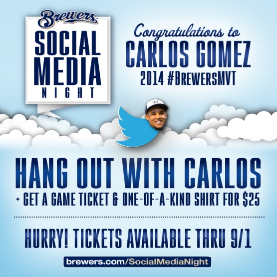 MB-14 Social Media Night-Congrats Carlos