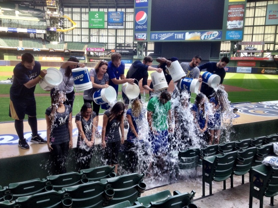 Brewers Wives Ice Bucket  DURING