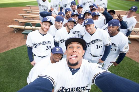 Brewers Team Selfie 2