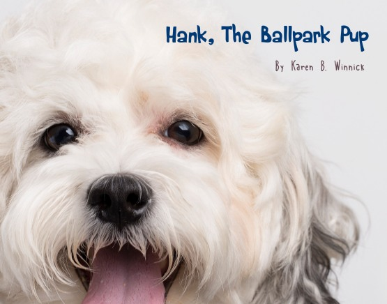 Hank Ballpark Pup Book Winnick