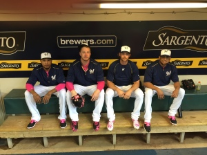 Pitchers in Pink.