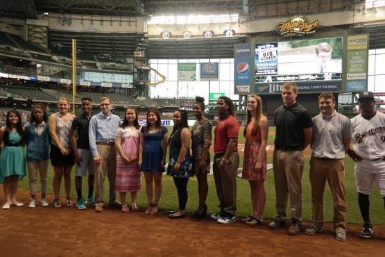 The 2015 Brewers Scholarship Recipients