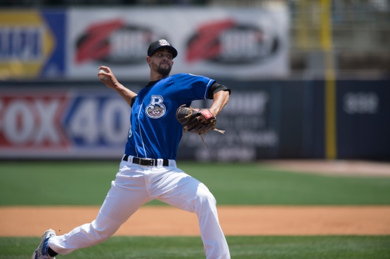 Jorge Lopez, Brewers Minor League Pitcher of the Year Photo: Benton Reed Photography