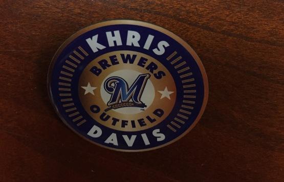 Khris Davis Pin