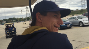 Manager Craig Counsell hit the parking lots, too.