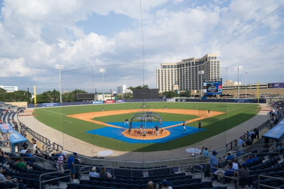 The Brewers will be traveling to Biloxi to take on the Shuckers in an exhibition game at the new MGM Park next spring.  Photo: Benton Reed