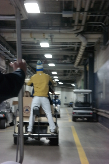 Brewers players and coaches took to the parking lots to surprise fans before tonight's game.
