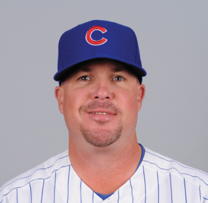 Derek Johnson, previously with the Cubs organization, was named the new Brewers pitching coach today.