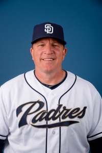 Pat Murphy, previously with the Padres, has been named the new Brewers bench coach for 2016.