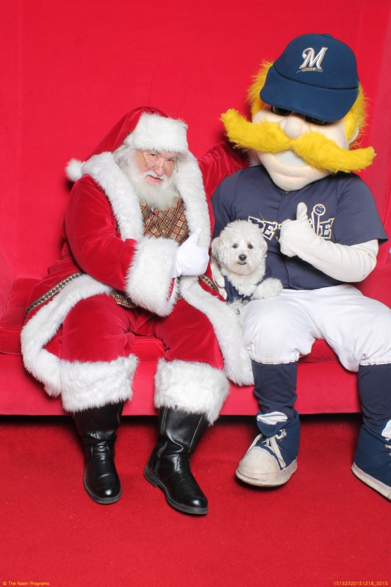 Hank and Bernie Visit Santa