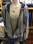 This 5th & Ocean gear is so comfy. Jacket (Reg. $79; Sale $55.30); T-Shirt (Reg. $39; Sale $27.30).
