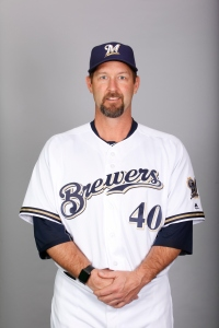 Brewers Coach Jason Lane brings unique experience to the team this year.