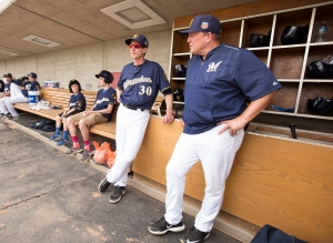 Murphy and Counsell carry the baseball conversation into the dugout this season.