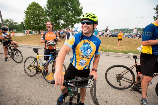 "Milwaukee Brewers host their first ""Hitting 4 the Cycle"" charity Bike ride Saturday August 8th, 2015 at Miller Park in Milwaukee.  Scott Paulus/Brewers"