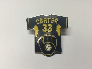 Chris Carter Brewers Pin