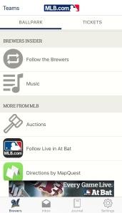 Ballpark App Music