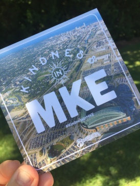 Everyone who was impacted by the #KIndnessInMKE event received one of these cards, with the hope that the recipients would pay it forward.