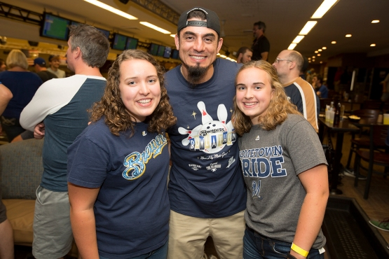 Matt Garza was our host tonight!