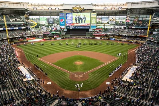 Photo: Scott Paulus/Milwaukee Brewers