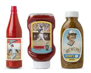 These limited edition condiments are not for sale, but you've got a chance to score some Saturday if you've got a great tailgate!