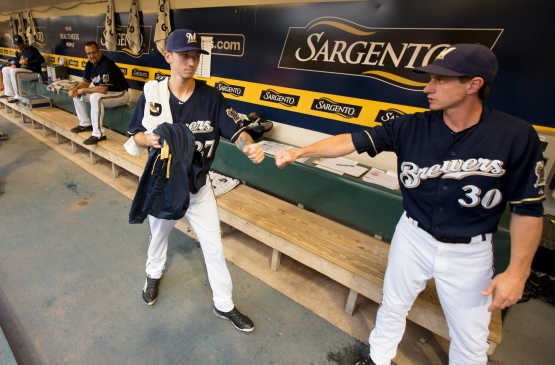Zach Davies September 2015 at Miller Park in Milwaukee. Scott Paulus/Brewers