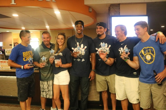 Congrats to Keon Broxton's team who took home first place overall!